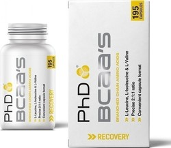 PhD Nutrition BCAA'S 195 κάψουλες
