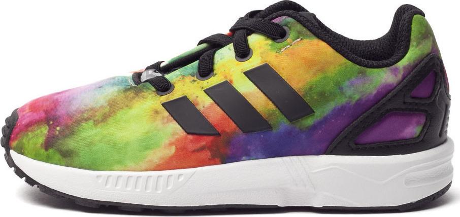 Details about Adidas ZX Flux EL Toddler's Shoes HazcorWhite BB2882