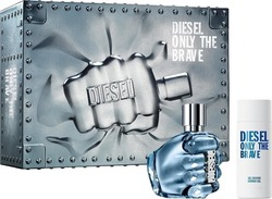Diesel Only Brave Set Eau de Toilette 75ml & Shower Gel 150ml