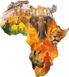 Silhouette Africa 1114pcs (16157) Ravensburger