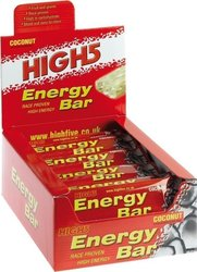 High5 Energy Bar 25 x 60gr Καρύδα
