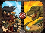 Jolly Roger Games Pirates Vs Dinosaurs