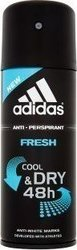 Adidas Fresh Cool & Dry 48h Anti-Perspirant 150ml