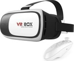 VR Box V2 with Bluetooth Gamepad