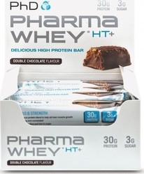 PhD Nutrition Pharma Whey Ht+ Bar 12 x 75gr Double Chocolate