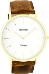 Oozoo Vintage Brown - White Gold C7754