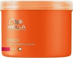 Wella Professionals Enrich Moisturizing Treatment For Coarse-Thick Hair 500ml