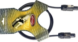 Stagg Cable Speakon male - Speakon male 1.5m (HPC1.5SS)