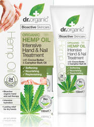 Dr.Organic Hemp Oil Hand and Nail Treatment 100ml