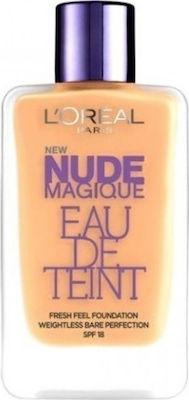 LOréal Paris Nude Magique Eau De Teint Foundation SPF18