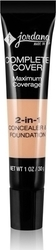 Jordana Complete Cover 2-in-1 Concealer & Foundation CCF-03 Golden Beige 30gr