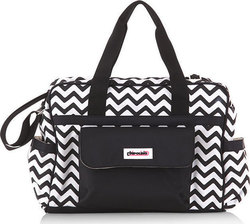 Chipolino Diaper Bag Luxe Zig Zag