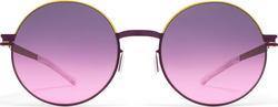 Mykita Decades Sun Alice Gold/Purple Violet