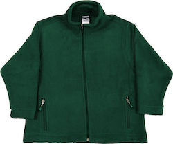 Παιδικό Full Zip Fleece SG SG80K - Bottle Green