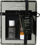 Korres Gift Set For Him Mountain Pepper, Bergamont, Coriander Eau de Toilette 50ml & After Shave Balm 125ml