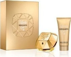 Paco Rabanne Gift Set Lady Million Eau de Parfum 50ml & Body Lotion 100ml