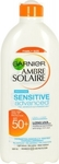 Garnier Ambre Solaire Sensitive Advanced Milk SPF50 400ml