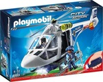 Playmobil Ελικόπτερο Αστυνομίας με Led Searchlight