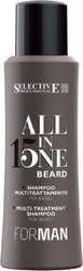 Selective Professional All In One Beard Multi-Treatment Shampoo 100ml
