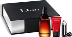 Dior Fahrenheit Eau de Toilette 100ml & Shower Gel 50ml & Refillable Bottle 3ml