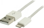 Valueline USB to Lightning Cable White 2m (VLMP39300W2.00)