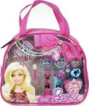 Markwins International Barbie Time to Shine Fashion Tote, Make-up Set