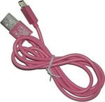 Volte-Tel USB 2.0 to micro USB Cable Fuchsia 1m (VCD-01)