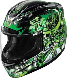Icon Airmada Shadow Warrior Green