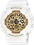 Casio Baby-G White Resin Strap BA-120LP-7A2ER