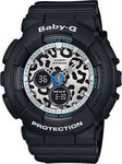 Casio Βaby G Black Resin Strap BA-120LP-1AER
