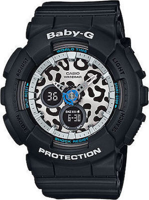 Casio Βaby G Black Resin Strap