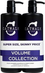Tigi Catwalk Volume Collection Your Highness Elevating Shampoo 750ml & Conditioner 750ml
