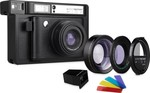 Lomography Lomo'Instant Wide Black + Lenses