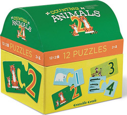 Counting Animals 12*2pcs (2951-8) Crocodile Creek
