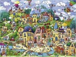 Rita Berman: Happytown 1500pcs (29744) Heye