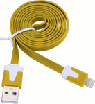 OEM Flat USB to Lightning Cable Yellow 1m (KGMAIPH0221Y)