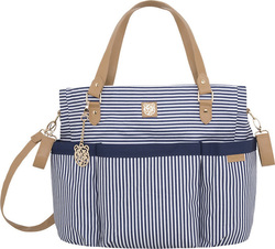 Mayoral Striped Navy Changing Bag