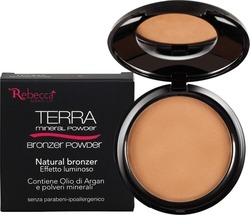Rebecca Mineral Bronzer Powder No 06 Crystals Sun 10gr