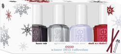 Essie Winter 2015 Collection Apres-Chic & Virgin Snow & Haute Tub & Shall We Chalet?