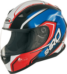 Shiro SH-881 Motegi Blue/Red