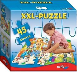 XXL-Puzzle Fire Station 45pcs (606038000) Noris