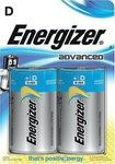 Energizer Advanced D (2τμχ)
