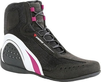Dainese Motorshoe Lady Air Black/White/Fuchsia
