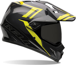 Bell MX-9 Adventure Barricade Hi-Vis