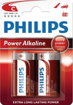 Philips Power Alkaline C (2τμχ)