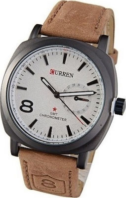 Curren 8139 Brown - White
