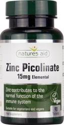 Natures Aid Zinc Picolinate 15mg 90 ταμπλέτες