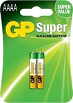 GP Batteries Super Alkaline AAAA (2τμχ)