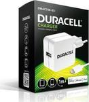 Duracell Apple Lightning Cable & Wall Adapter Λευκό (DMAC11W-EU)
