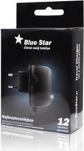 Blue Star micro USB Wall Charger Μαύρο (5901737193568)
